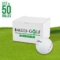 Golf TITLEIST Lot de 50 Balles de Golf Titleist DT Solo Reconditionnees