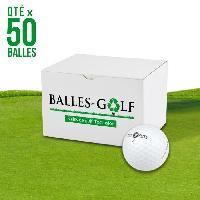 Golf TOPFLITE Lot de 50 Balles Top Flite Mixed Reconditionnees Generique