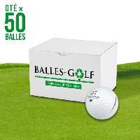 Golf WILSON Lot de 50 balles de golf Wilson Mix - Reconditionnees - Blanc