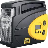 Gonfleurs et Pompes Compresseur gonfleur OMP 12V 8bars mano digital lampe led