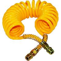 Gonfleurs et Pompes Spirale a air jaune Generique