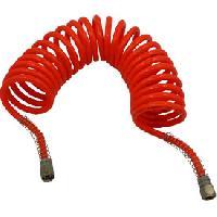 Gonfleurs et Pompes Spirale a air rouge