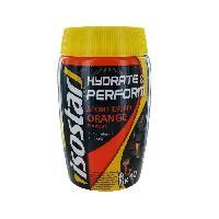 Gouter Minceur - Collation Minceur - Gateau Minceur ISOSTAR Poudre Hydrate et Perform. saveur orange - 400 g - Generique