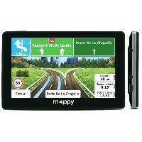Gps Auto - Module - Boitier De Navigation ITI E-438T GPS Voiture Slim Carte a Vie 4.3 Noir