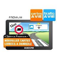 Gps GPS Poids lourds SNOOPER PL5400 - carto gratuite a vie - Ecran 5p