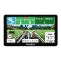 Gps MAPPY Maxi E738 Navigateur GPS 7'' Carte a Vie