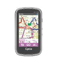 Gps MIO GPS velo 400 WEU - Processeur ARM Cortex-A7 - GPS Chipset U-blox 7 - Ecran tactile 4 - 360 x 600 - 73.7 x 129.4 x 22 mm