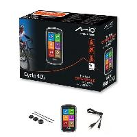 Gps MIO GPS velo 405 WEU - Processeur ARM Cortex-A7 - GPS Chipset U-blox 7 - Ecran tactile 4 - 360 x 600 - 73.7 x 129.4 x 22 mm