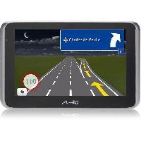 Gps MIO MiVue drive 65 LM GPS voiture - Camera embarquee Premium Extreme HD - Aide a la conduite - Mise a jour a vie - Bluetoothet TMC