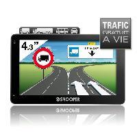 """Gps SNOOP PL2200. GPS Poids-lourds 4.3"""". 46 pays - Cartes & Trafic gratuits a vie - Snooper"""