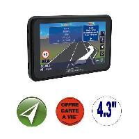 Gps TAKARA GP83CAV. GPS 4.3. 16 pays - Cartes gratuites a vie
