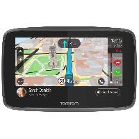 Gps TOMTOM GO 5200 Cartographie Monde Trafic Zones de Danger a vie et Appel Mains-Libres -1PL5.002.04- Noir - Tom Tom