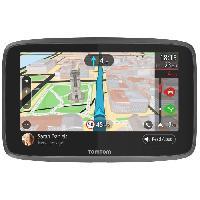 Gps TOMTOM GO 6200 Cartographie Monde Trafic Zones de Danger a vie et Appel Mains-Libres -1PL6.002.04- Noir