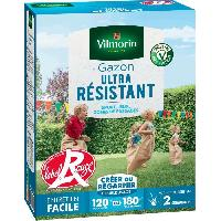 Graine - Semence VILMORIN Semences de gazon ultra-resistant Label Rouge - 3 kg