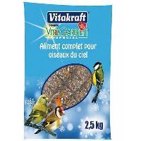 Graines Aliment complet - Pour oiseaux du ciel - 2.5 kg