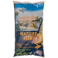 Graines Nature Mix+ Melange de graines - Pour oiseaux de la nature - 1kg