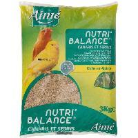 Graines Nutri'balance Melange des graines - Pour canaris et serins - 3kg