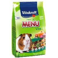 Graines VITAKRAFT Menu Vital - Pour cochon d'Inde - 4 kg