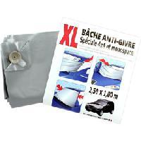 Grattes-givre et Anti-givre Bache anti-givre - ventouses - XL - 100x250cm - ADNAuto