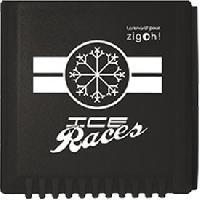 Grattes-givre et Anti-givre Gratte-givre carre gris Ice Races - Zigoh