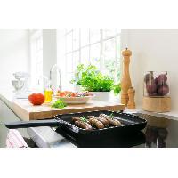 Grill - Crepiere KCI10GPOB - Grill et presse panini en fonte - Noir onyx - Tous feux dont induction