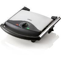 Grill Electrique DOMO DO9140G Grill panini - 2000 W - 90° 230° - Gris et noir