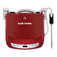 Grill Electrique GEORGE FOREMAN Grill Evolve Precision 24001-56 - Ecran digital - 1440 W - Rouge