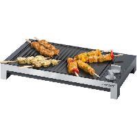 Grill Electrique STEBA 066100 TG1 Grill de table - 2200 W - Plaque antiadhesive 37 x 30 cm - Noir