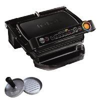 Grill Electrique TEFAL GC7128.HB Optigrill Grill + Presse a hamburger - 2000 W - Noir