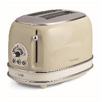 Grille-pain - Toaster 1551 Grille pain vintage - 2 fentes - 810W - Beige