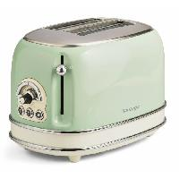 Grille-pain - Toaster 1552 Grille pain vintage - 2 fentes - 810W - Vert