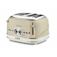 Grille-pain - Toaster 1561 Grille pain vintage - 4 fentes - Beige