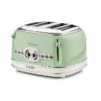 Grille-pain - Toaster 1562 Grille pain vintage - 4 fentes - Vert