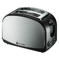 Grille-pain - Toaster BLACK PEAR BGP 400 Grille-pain parois Inox 1000W - Blackpear