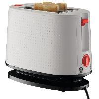 Grille-pain - Toaster BODUM 10709-913EURO-3 Bistro Grille-pain électrique double fente - 940 W - Blanc creme