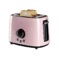 Grille-pain - Toaster DO952T Grille-pain - 2 compartiments - 1000W - Rose