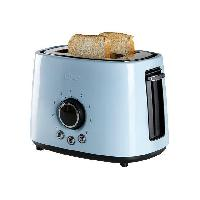 Grille-pain - Toaster DO953T Grille-pain - 2 compartiments - 1000W - Bleu