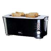 Grille-pain - Toaster DO961T Grille-pain a larges compartiments - 1350W - Noir