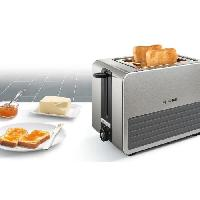 Grille-pain - Toaster TAT7S25 Grille-pain - 950W - 2 tranches - Inox