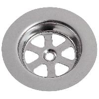 Grille D'evier Grille ronde creuse SP9236 - Inox - D 80 mm - Evier en gres