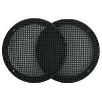 Grilles HP & Subs 2 grilles de haut-parleurs 130mm noires ADNAuto