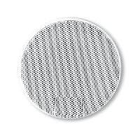 Grilles HP & Subs 2x Grilles Haut-Parleur Universelle D165mm Rondes blanches
