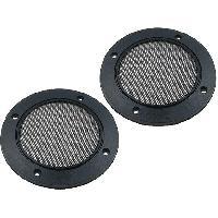 Grilles HP & Subs Grilles de haut-parleur 100mm Metal Custom - ADNAuto