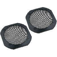 Grilles HP & Subs Grilles de haut-parleur 165mm Metal Carre - ADNAuto