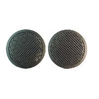 Grilles HP & Subs Grilles de haut-parleur pour Seat Volkswagen - noir 165mm Generique