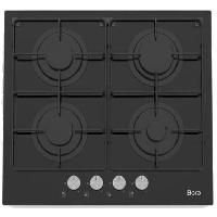 Gros Appareils De Cuisson BORA BOTGVE64 - Table de cuisson gaz - 4 zones - L59xP52cm - Revetement Verre - Noir