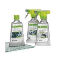 Gros Appareils Froid 902979462 -Set cuisine-1 spray nettoyant inox-1 spray nettoyant refrigerateur-1 creme nettoyante four-1 chiffon doux