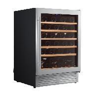 Gros Appareils Froid CLIMADIFF CLE51 - Cave a vin de service - 51 bouteilles - Encastrable - Classe B - L 59.5 x H 82 cm