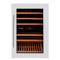Gros Appareils Froid CLIMADIFF CLI45 - Cave a vin de service 2 Zones - 41 bouteilles - Intégrable - Classe C - L 59.2 x H 88.5 cm