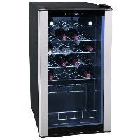 Gros Appareils Froid CLIMADIFF CLS28A - Cave a vin de service - 28 bouteilles - Pose libre - Classe B - L 43 x H 82.5 cm
